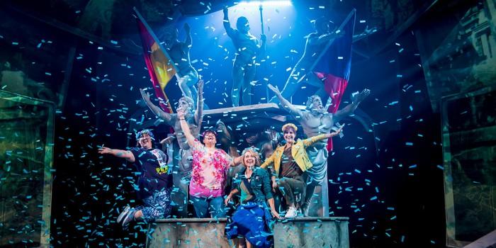 The cast of The Band (Photo: Matt Crockett)