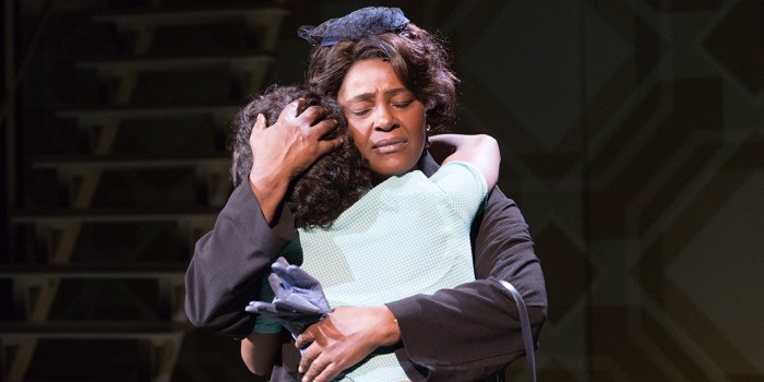 Sharon D Clarke and Abiona Omonua (Emmie) in Caroline, Or Change (Photo: Alastair Muir)