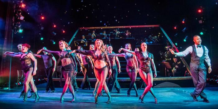 Cuba Gooding Jr and the ensemble of Chicago (Photo: Tristram Kenton)