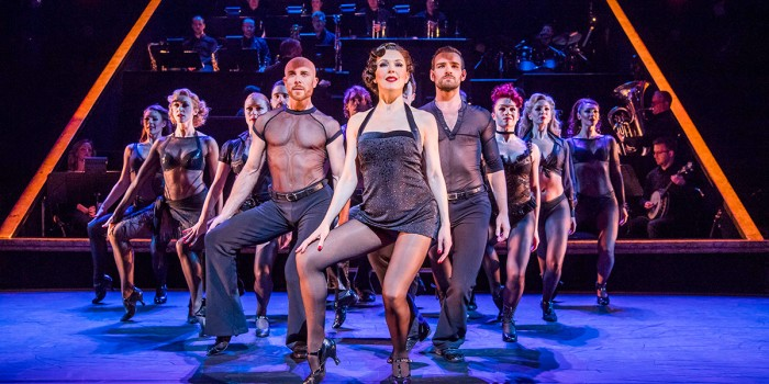 Josefina Gabrielle and the cast of Chicago (Photo: Tristram Kenton)