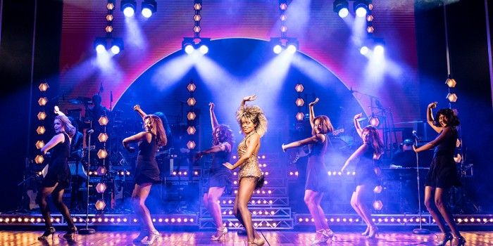 Adrienne Warren and the cast of Tina - The Tina Turner Musical (Photo: Manuel Harlan)