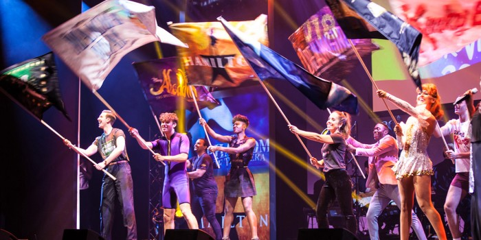 West End Eurovision 2018 flag parade (Photo: Leigh Carter)