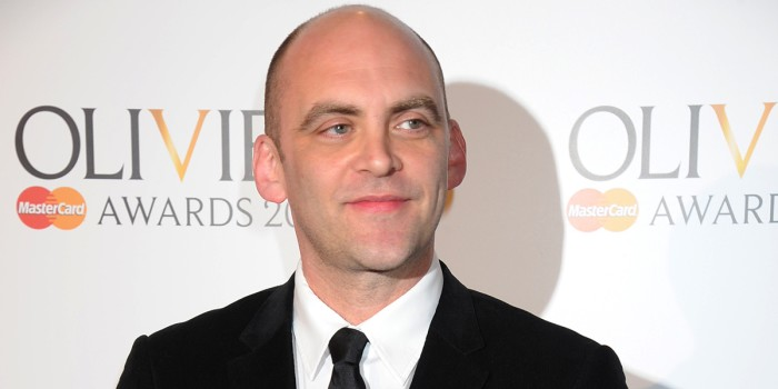 Sean Holmes at the Olivier Awards 2011 with Mastercard (Photo: Richard Young)