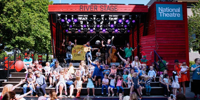 The National Theatre's River Stage Festival (Photo: James Bellorini)