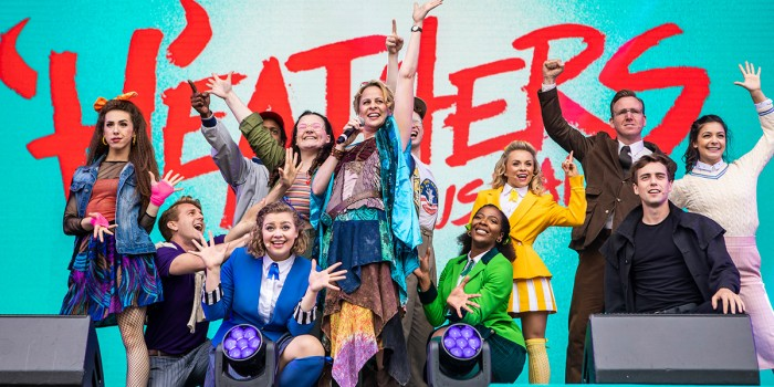 Heathers The Musical at West End LIVE 2018 (Photo: Pamela Raith)