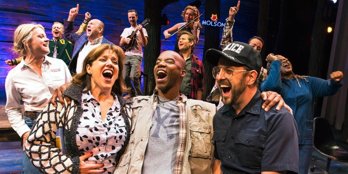 The original Broadway cast of Come From Away (Photo: Matthew Murphy)