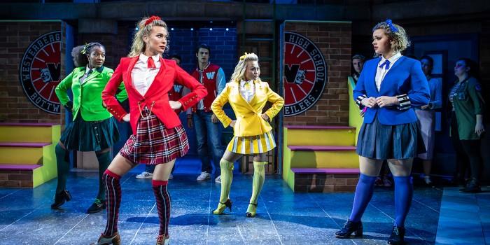 The cast of Heathers The Musical (Photo: Pamela Raith)