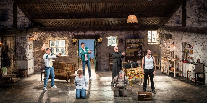 The cast of The Lieutenant Of Inishmore (Photo: Johan Persson)
