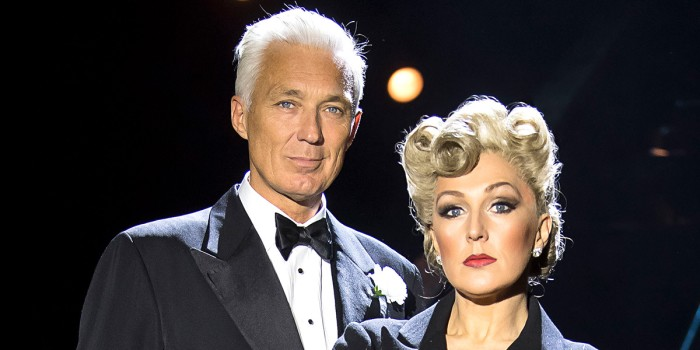 Martin Kemp and Mazz Murray in Chicago