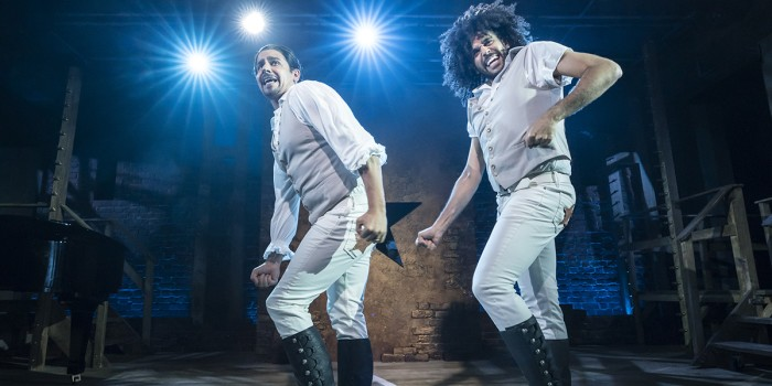 Spamilton at the Menier Chocolate Factory (Photo: Johan Persson)