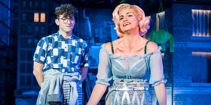 Jemima Rooper and Marc Antolin in Little Shop Of Horrors (Photo: Johan Persson)