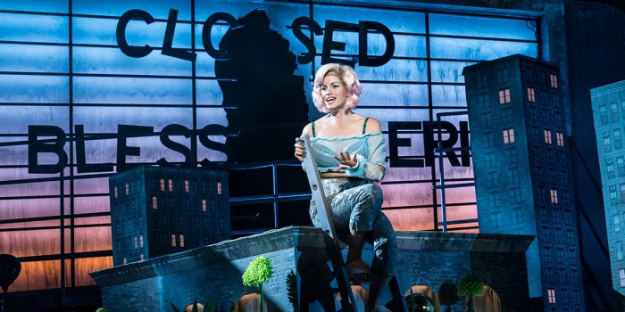 Jemima Rooper in Little Shop Of Horrors (Photo: Johan Persson)