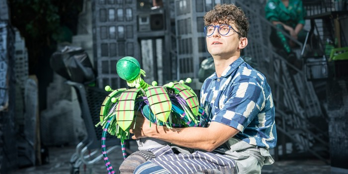 Marc Antolin in Little Shop Of Horrors (Photo: Johan Persson)
