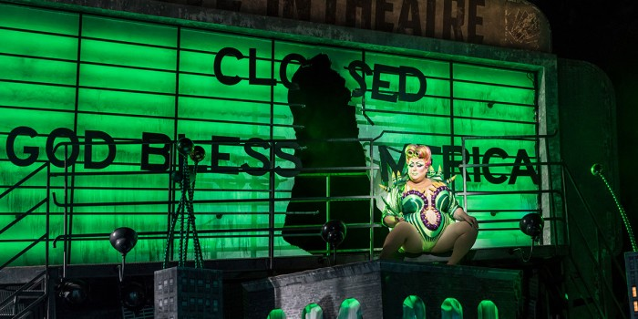 Vicky Vox in Little Shop Of Horrors (Photo: Johan Persson)