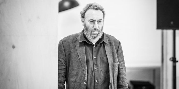 Antony Sher in rehearsal for Pinter One (Photo: Marc Brenner)