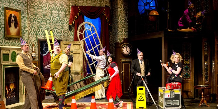 The Play That Goes Wrong celebrates its 4th birthday