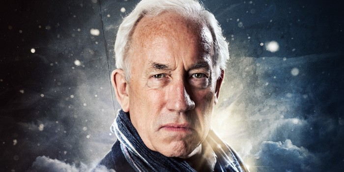 Simon Callow in A Christmas Carol at the Arts Theatre