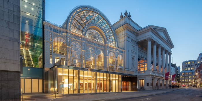 The new Royal Opera House exterior (Photo: Luke Hayes)