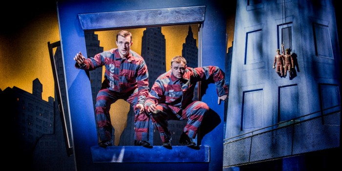 The Comedy About A Bank Robbery at Criterion Theatre (Photo: Robert Workman)