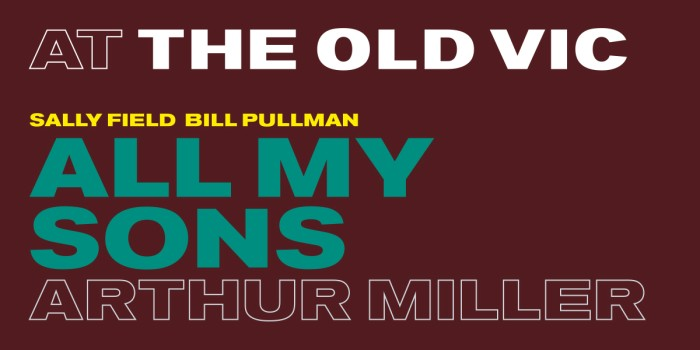All My Sons at The Old Vic