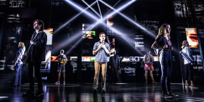 The Broadway cast of Dear Evan Hansen