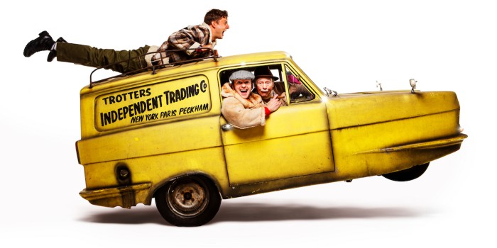 Ryan Hutton, Tom Bennett and Paul Whitehouse in Only Fools And Horses The Musical