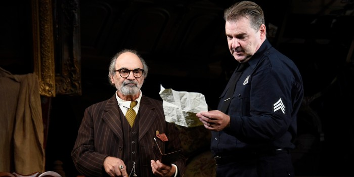 David Suchet and Brendan Coyle in The Price (Photo: Nobby Clark)