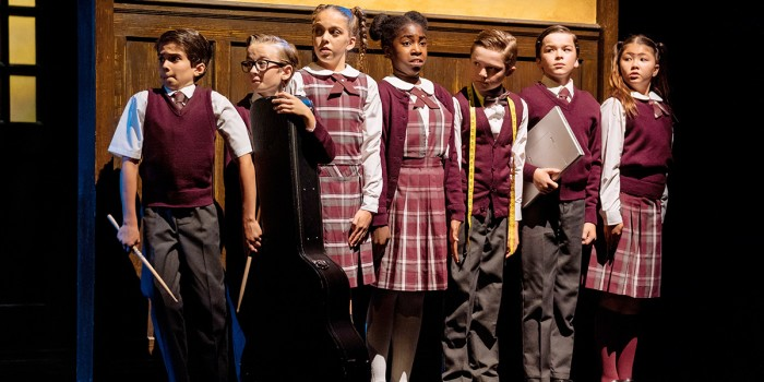 The kids cast of School Of Rock (Photo: Manuel Harlan)