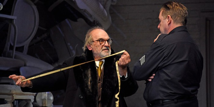 David Suchet and Brendan Coyle in The Price (Photo: Nobby Clark)