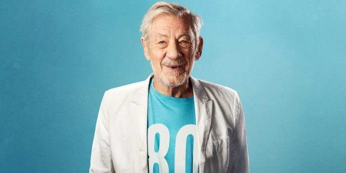 Ian McKellen On Stage. Photo credit: Oliver Rosser, Feast Creative