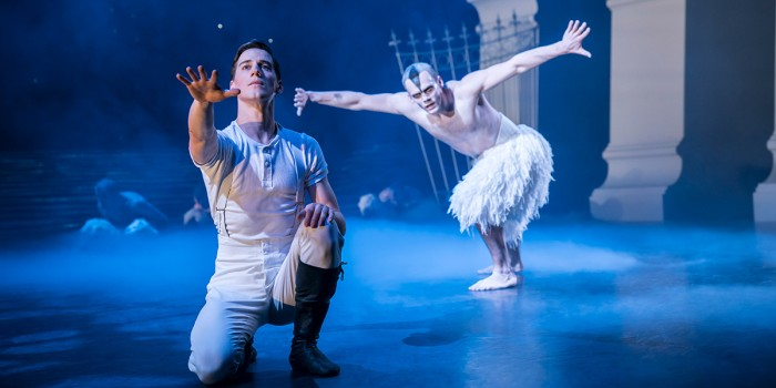 Dominic North and Will Bozier in Matthew Bourne's Swan Lake (Photo: Johan Persson)