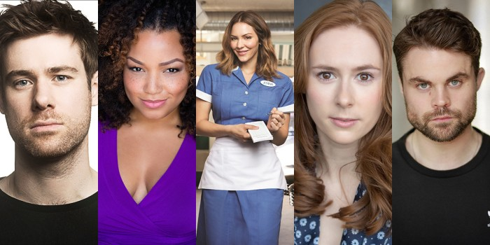 David Hunter, Marisha Wallace, Katharine McPhee, Laura Baldwin and Peter Hannah will star in Waitress