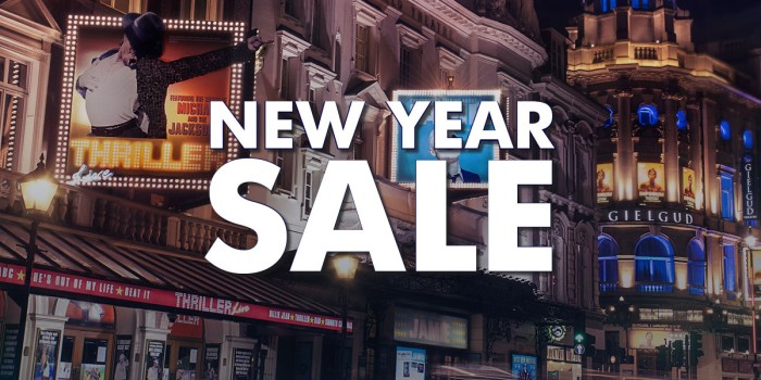 Official London Theatre's New Year Sale