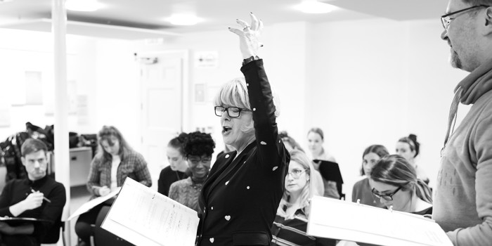 Rehearsals for LMTO's A Christmas Carol