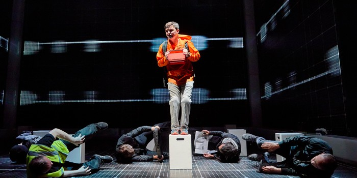 Joshua Jenkins in The Curious Incident Of The Dog In The Night-Time (Photo: Brinkhoff/Mogenburg)