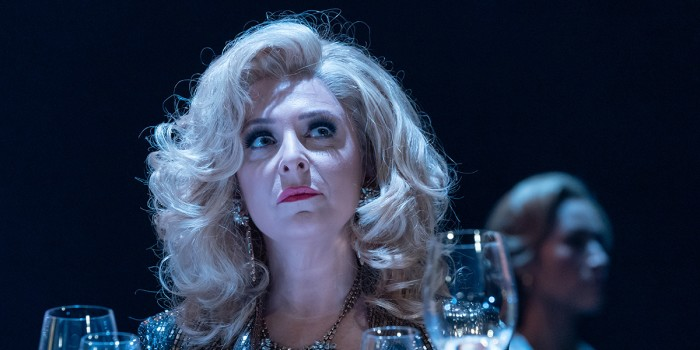 Tracy Ann-Oberman in Pinter Six (Photo: Marc Brenner)