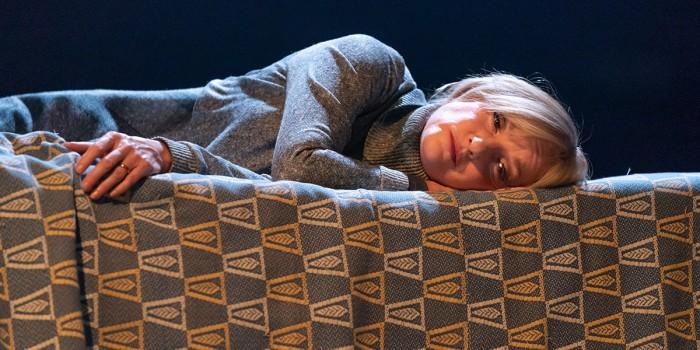 Jane Horrocks in Pinter Five (Photo: Marc Brenner)