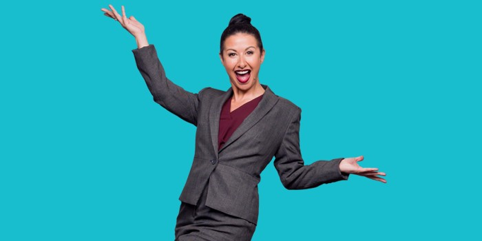 Introducing Hayley Tamaddon as Miss Hedge