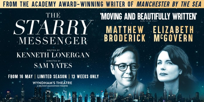 The Starry Messenger at Wyndham's Theatre