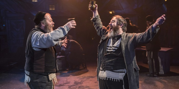 Dermot Canavan and Andy Nyman in Fiddler On The Roof at the Menier Chocolate Factory (Photo: Johan Persson)