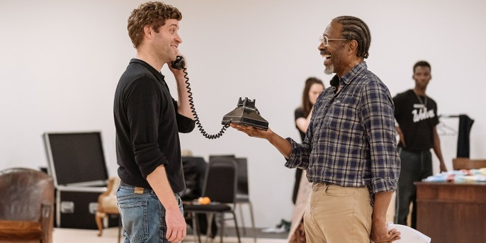 The American Clock rehearsals at The Old Vic