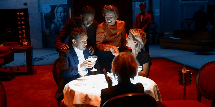 The cast of All About Eve at the Noël Coward Theatre (Photo: Jan Versweyveld)