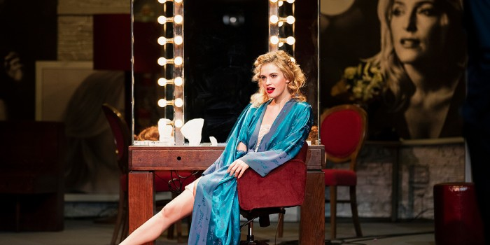 Lily James in All About Eve at the Noël Coward Theatre (Photo: Jan Versweyveld)