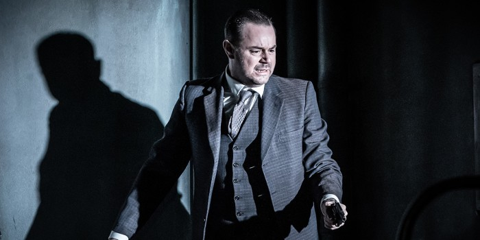 Danny Dyer in Pinter Seven (Photo: Marc Brenner)