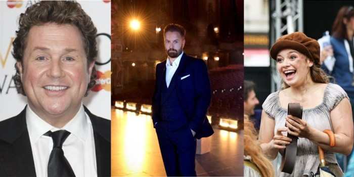 Michael Ball, Alfie Boe, Carrie Hope Fletcher and Matt Lucas will be performing in Les Mis - The All-Star Staged Concert