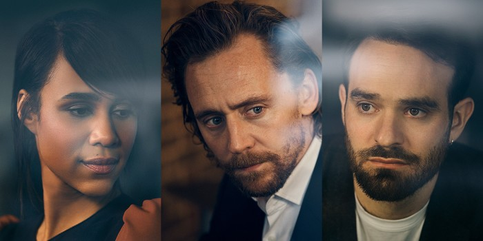 Zawe Ashton, Tom Hiddleston and Charlie Cox in Betrayal (Photo: Charlie Gray)
