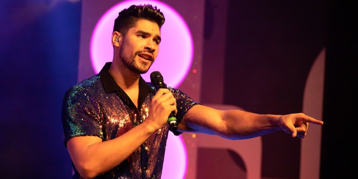 Louis Smith in Rip It Up - The 60s at the Garrick Theatre (Photo: Fiona Whyte/The TBC Group)