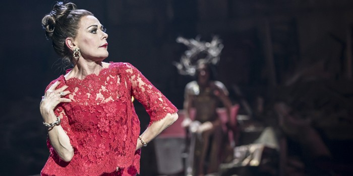 FOLLIES 2019 Tracie Bennett (Carlotta) National Theatre (c) Johan Persson