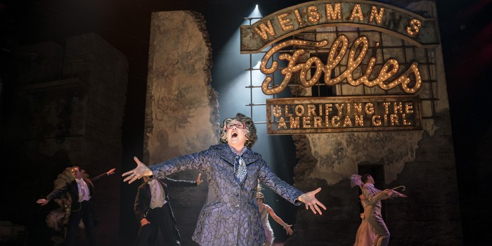 FOLLIES 2019 Claire Moore (Hattie) National Theatre (c) Johan