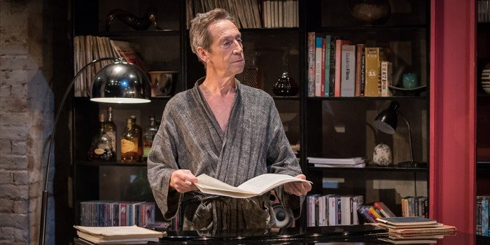 Jonathan Hyde in Gently Down The Stream at Park Theatre (Photo: Marc Brenner)
